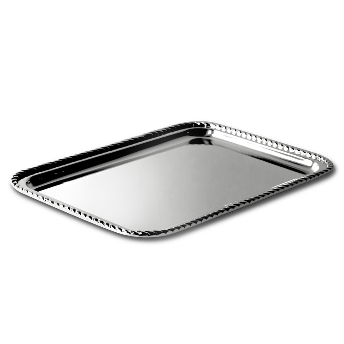 "12"" Rectangular Tray in Rope"