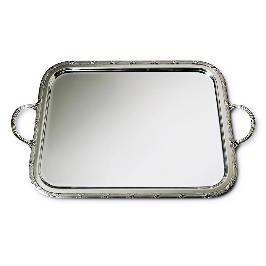 "16"" Rectangular Tray with Handles"