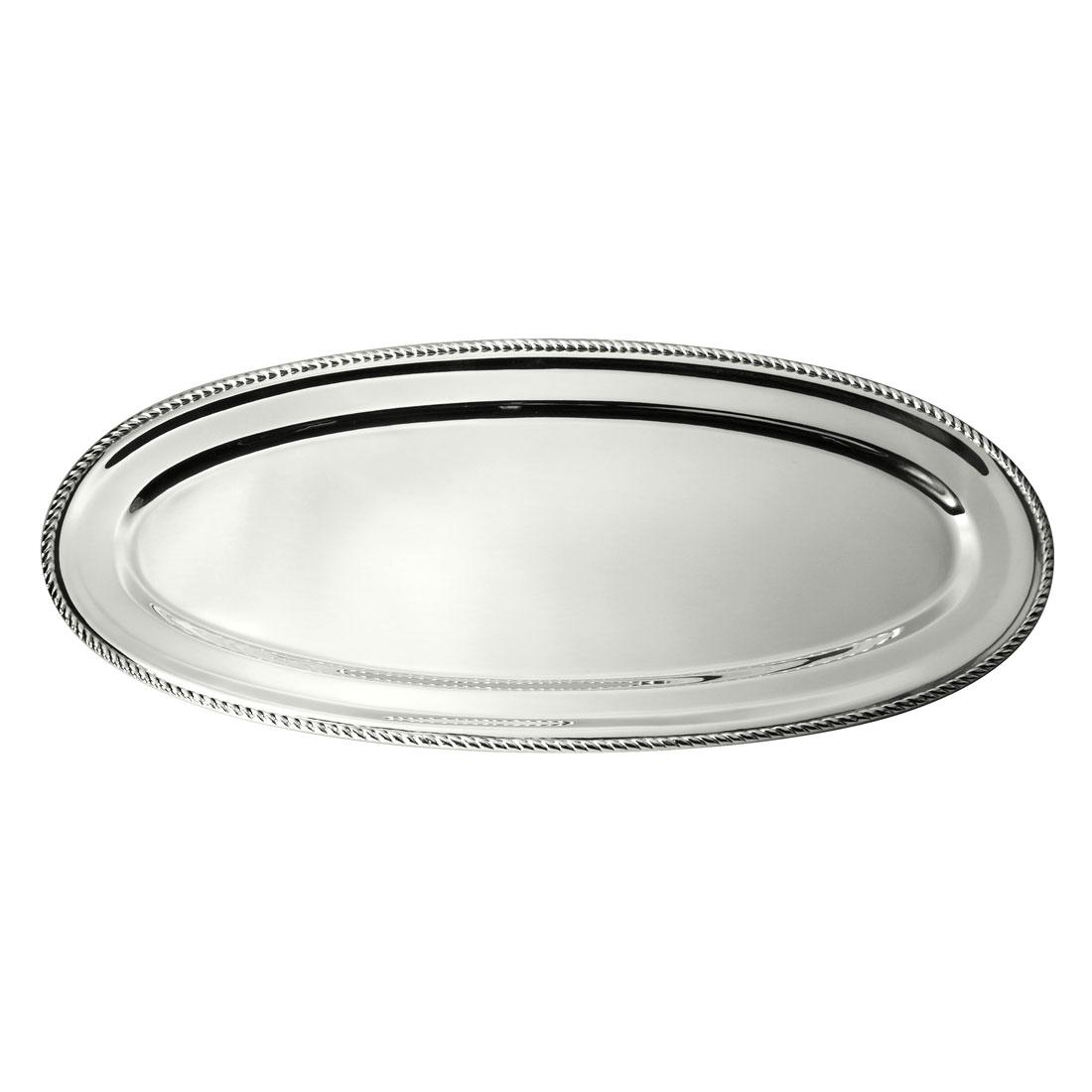 Orfevra 28 Inch Silver Plated Fish Platter